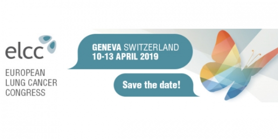 Save-the-date: European Lung Cancer Congress 2019